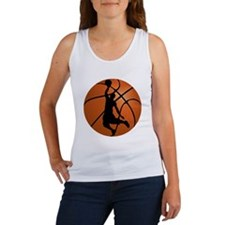 Basketball Dunk Silhouette Tank Top