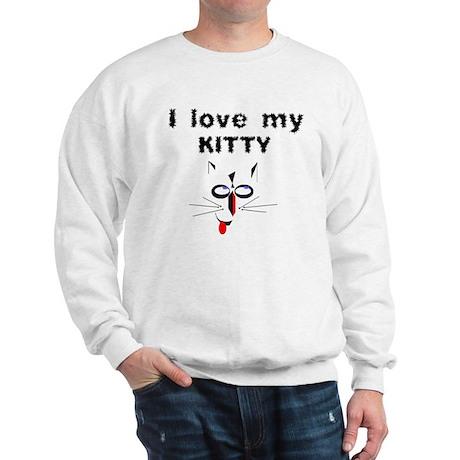 I Love My Kitty - Sweatshirt