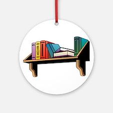 Bookshelf Ornament (Round)