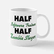 Half Software Trainer Half Zombie Slayer Mugs