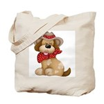 Country Dog Tote Bag