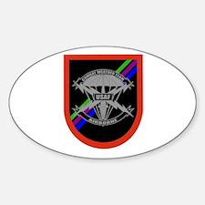 Combat Weatherman Flash Oval Decal