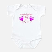 Tae Kwon Do Valentine Pink Yin Yang Heart Infant B