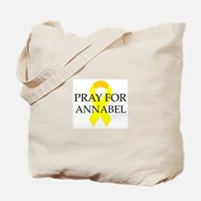 Pray for Annabel Tote Bag