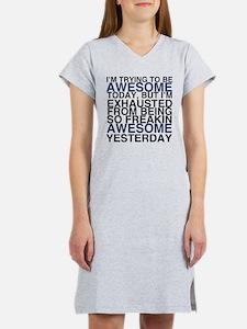 Im Awesome Women's Nightshirt