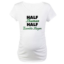 Half Shaman Half Zombie Slayer Shirt