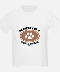 Snorkie dog Kids T-Shirt