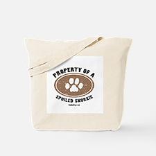 Snorkie dog Tote Bag
