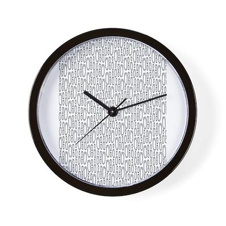 Safety Pin Wall Clock