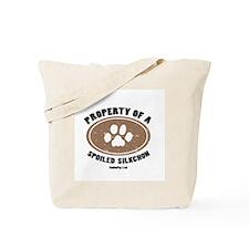 Silkchon dog Tote Bag