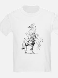 Elegant Horse Kids T-Shirt