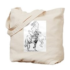 Elegant Horse Tote Bag