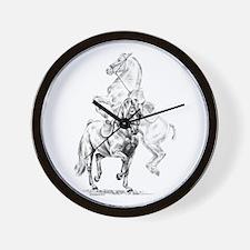 Elegant Horse Wall Clock