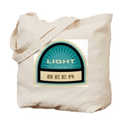 Light Beer Tote Bag