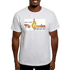 Crusades Rock Tour Ash Grey T-Shirt