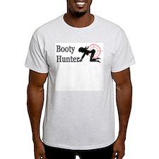 Booty Hunter Ash Grey T-Shirt