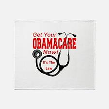 Obamacare Throw Blanket