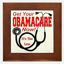 Obamacare Framed Tile