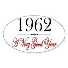 1962 Oval Decal