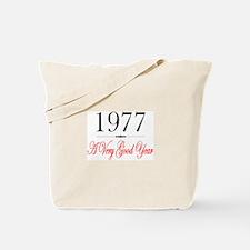 1977 Tote Bag