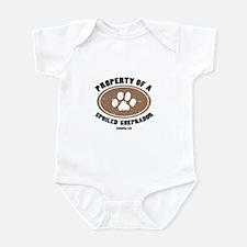 Sheprador dog Infant Bodysuit