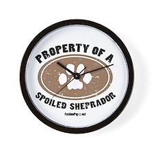 Sheprador dog Wall Clock