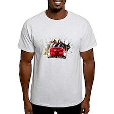 Red 240Z Burst T-Shirt