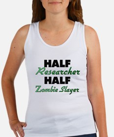 Half Researcher Half Zombie Slayer Tank Top