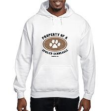 Schneagle dog Hoodie