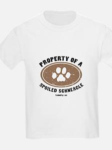 Schneagle dog Kids T-Shirt
