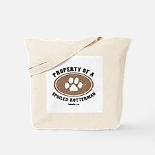 Rotterman dog Tote Bag