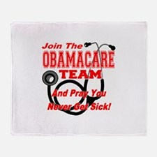 Join the Obamacare Team & Pray Throw Blanket