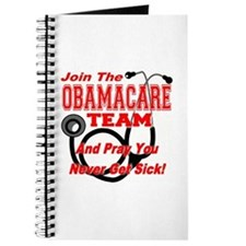 Join the Obamacare Team & Pray Journal