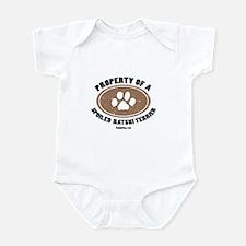 Ratshi Terrier dog Infant Bodysuit