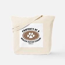 Ratshi Terrier dog Tote Bag