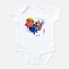 Easter Bunny Stew Infant Bodysuit