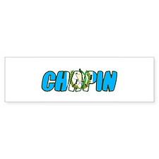 guatemala chapin Bumper Bumper Sticker