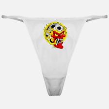 Soccer Skull Classic Thong