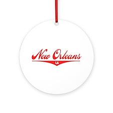 New Orleans LA Ornament (Round)