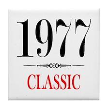 1977 Tile Coaster