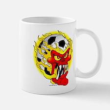 Soccer Skull Mug