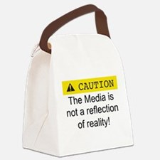 Funny Anti democrat Canvas Lunch Bag