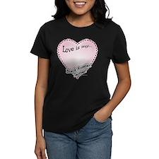 Love is my Black Russian Terrier Tee