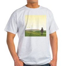 A Vision of Pendle Hill Ash Grey T-Shirt