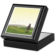 A Vision of Pendle Hill Keepsake Box