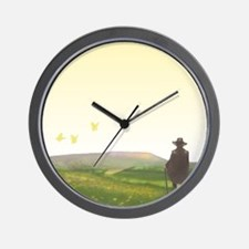 A Vision of Pendle Hill Wall Clock