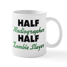 Half Radiographer Half Zombie Slayer Mugs