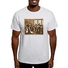 Instrument Maker Ash Grey T-Shirt