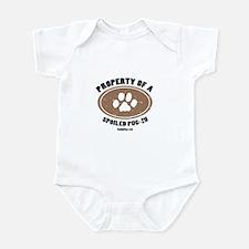 Pug-Zu dog Infant Bodysuit