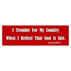 Thomas Jefferson Bumper Bumper Sticker